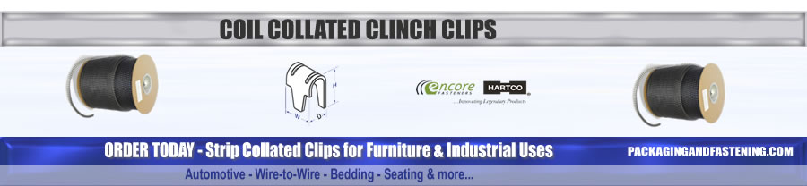 Coil Collated Clinch Clips