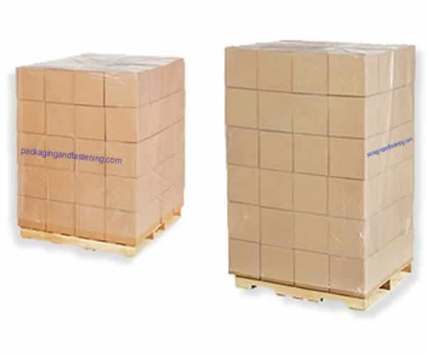 2 Mil Clear Plastic Covers Pallet Bags On Rolls For Protecting Your Products