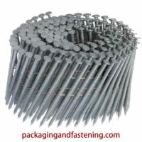 2-1/4 Inch Blunt Chisel Point Coated .099 Ring Shank 9000 Per Case