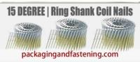 .120 x 3 Inch Full Round Head Ring Coil Nail Electro-Galvanized 3.6 M/Bx 1 Bx/Cs; Unit Price - 1 Case