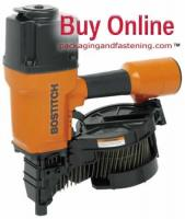 Contact Trip Coil Nailer .099 -.148 1 1/2 - 3 1/4 Inch 15 Degree Wire Collated; 300 Magazine Capacity